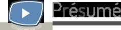 Présumé - Presentation Resume